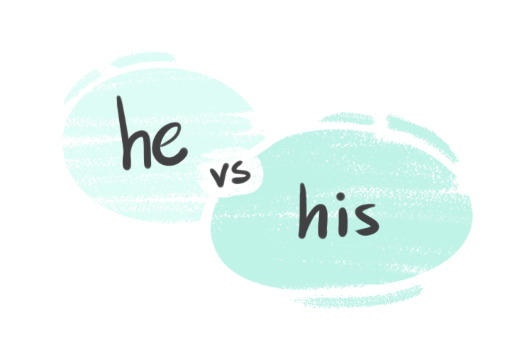"""""""He"""" vs. """"His"""" in the English Grammar"""