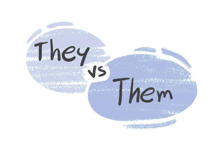 """""""They"""" vs. """"Them"""" in the English Grammar"""