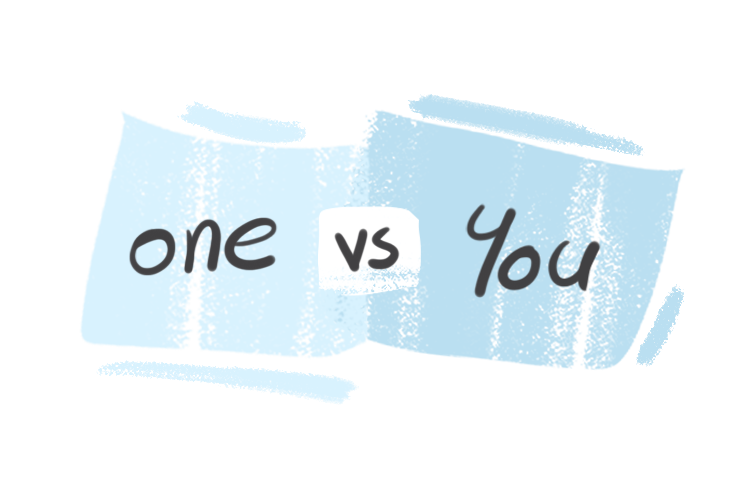 """""""One"""" vs. """"You"""" in the English Grammar"""