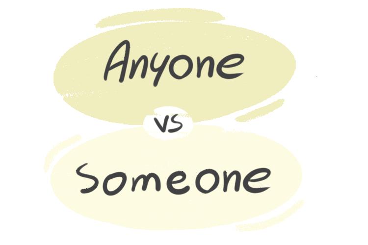 """Anyone"" vs. ""Someone"" in the English Grammar"