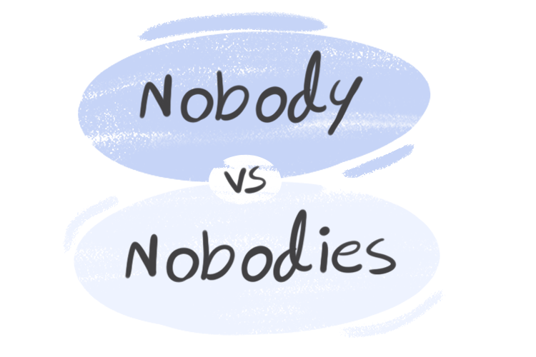"""Nobody"" vs. ""Nobodies"" in the English Grammar"