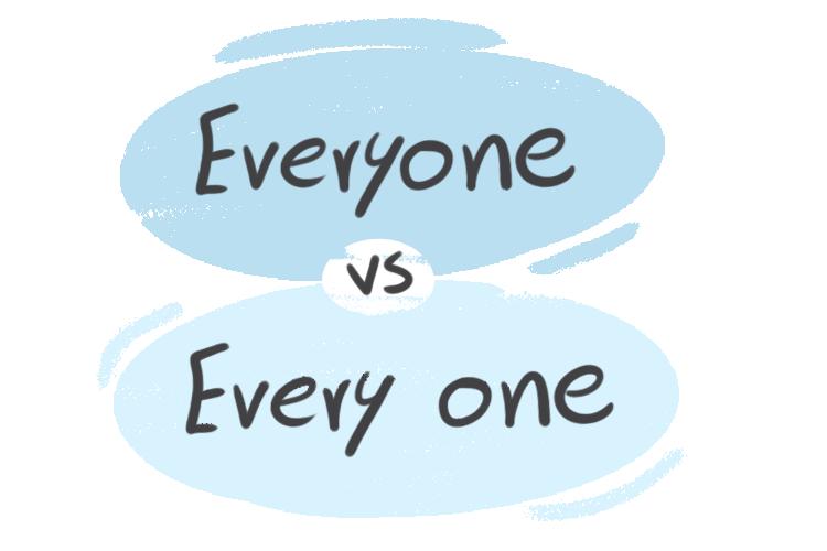 """Everyone"" vs. ""Every One"" in English Grammar"